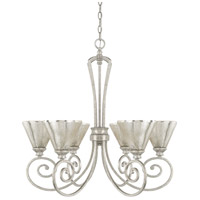 Capital Lighting 410961AS-315 Corrigan 6 Light 29 inch Antique Silver Chandelier Ceiling Light