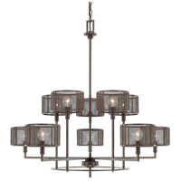 Capital Lighting Bennett 10 Light Chandelier in Russet 411101RS-653