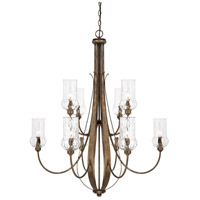 Rowan 10 Light 34 inch Rustic Chandelier Ceiling Light
