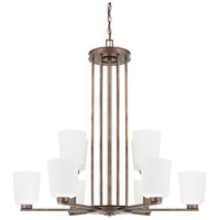 Capital Lighting Reid 10 Light Chandelier in Rustic 412001RT-323