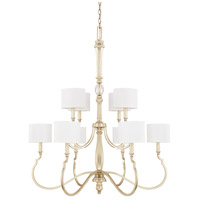 Noelle 10 Light 37 inch Winter Gold Chandelier Ceiling Light