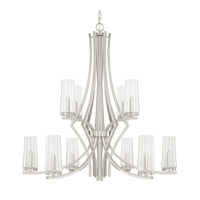 Capital Lighting Stella 10 Light Chandelier in Brushed Nickel 413501BN-326
