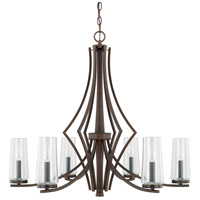Capital Lighting 413561BB-326 Stella 6 Light 30 inch Burnished Bronze Chandelier Ceiling Light