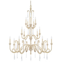 Capital Lighting 413602WG Cambridge 16 Light 50 inch Winter Gold Chandelier Ceiling Light