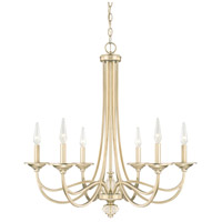 Windsor 6 Light 29 inch Soft Gold Chandelier Ceiling Light