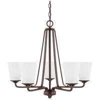 HomePlace 5 Light 26 inch Bronze Chandelier Ceiling Light