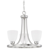 HomePlace 3 Light 18 inch Brushed Nickel Chandelier Ceiling Light