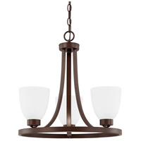 HomePlace 3 Light 18 inch Bronze Chandelier Ceiling Light