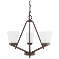 HomePlace 3 Light 20 inch Bronze Chandelier Ceiling Light