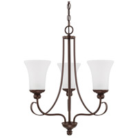HomePlace 3 Light 21 inch Bronze Chandelier Ceiling Light