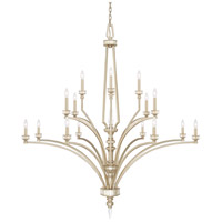 Olivia 16 Light 58 inch Winter Gold Chandelier Ceiling Light