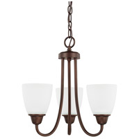 HomePlace 3 Light 15 inch Bronze Chandelier Ceiling Light