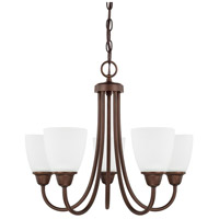 HomePlace 5 Light 21 inch Bronze Chandelier Ceiling Light