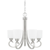 HomePlace 5 Light 24 inch Brushed Nickel Chandelier Ceiling Light