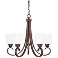 HomePlace 5 Light 24 inch Bronze Chandelier Ceiling Light