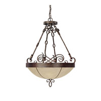 Capital Lighting Reserve 3 Light Pendant in Rustic 4163RT