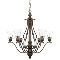 Capital Lighting 417461RB-372 Sinclaire 6 Light 32 inch Renaissance Brown Chandelier Ceiling Light