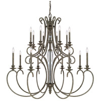 Everleigh 16 Light 50 inch French Greige Chandelier Ceiling Light