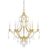 Blakely 6 Light 28 inch Capital Gold Chandelier Ceiling Light
