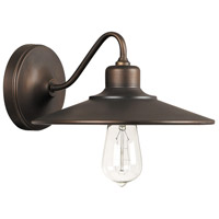 Capital Lighting 4191BB Urban 1 Light 10 inch Burnished Bronze Sconce Wall Light
