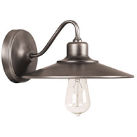 Capital Lighting 4191GR Urban 1 Light 10 inch Graphite Sconce Wall Light