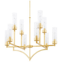 Regan 10 Light 33 inch Capital Gold Chandelier Ceiling Light