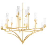 Regan 18 Light 60 inch Capital Gold Chandelier Ceiling Light