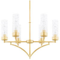 Regan 6 Light 26 inch Capital Gold Chandelier Ceiling Light