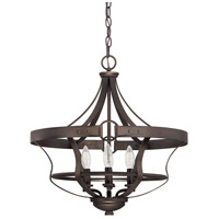 Capital Lighting Chastain 4 Light Foyer Pendant in Tobacco 4208TB
