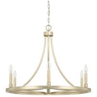 Capital Lighting 421261WG Mercer 6 Light 29 inch Winter Gold Chandelier Ceiling Light