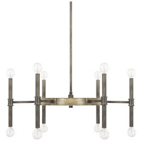 Gavin 12 Light 28 inch Iron and Gold Chandelier Ceiling Light