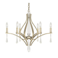 Capital Lighting Margo 6 Light Chandelier in Winter Gold 4226WG-000-CR