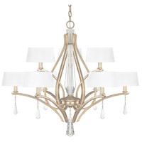 Capital Lighting 4229WG-549-CR Margo 9 Light 34 inch Winter Gold Chandelier Ceiling Light