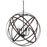 Axis 6 Light 30 inch Russet Pendant Ceiling Light in (None)