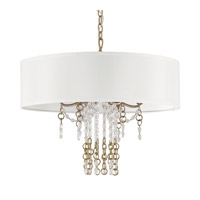 Ava 6 Light 24 inch Sable Pendant Ceiling Light