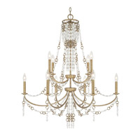 Ava 10 Light 34 inch Sable Chandelier Ceiling Light