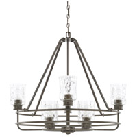 Capital Lighting 425081FH-425 Bristol 8 Light 31 inch Farm House Chandelier Ceiling Light