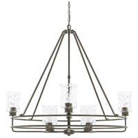 Capital Lighting 425082FH-444 Bristol 8 Light 42 inch Farm House Chandelier Ceiling Light