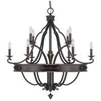 Wyatt 10 Light 36 inch Surrey Chandelier Ceiling Light