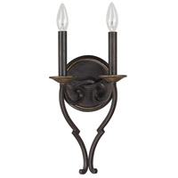 Wyatt 2 Light 8 inch Surrey Sconce Wall Light