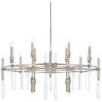 Capital Lighting 425302AS Drake 20 Light 42 inch Antique Silver Chandelier Ceiling Light