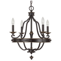Capital Lighting Wyatt 4 Light Chandelier in Surrey 4254SY-000
