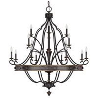 Capital Lighting Wyatt 16 Light Chandelier in Surrey 4256SY-000