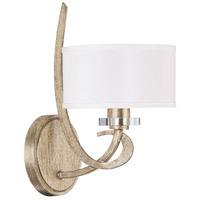 Capital Lighting Hutton 1 Light Sconce in Winter Gold 4261WG-552
