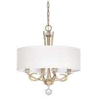 Capital Lighting Hutton 4 Light Chandelier in Winter Gold 4264WG-568