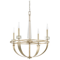 Capital Lighting 428141WG Karina 4 Light 27 inch Winter Gold Chandelier Ceiling Light