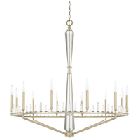 Adira 12 Light 45 inch Winter Gold Chandelier Ceiling Light