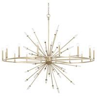 Capital Lighting 428203WG Adira 16 Light 59 inch Winter Gold Chandelier Ceiling Light