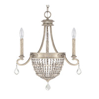 Duchess 3 Light 20 inch Silver Quartz Chandelier Ceiling Light