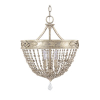 Capital Lighting Duchess 3 Light Dual Mount Pendant in Silver Quartz 4284SQ-000-PC